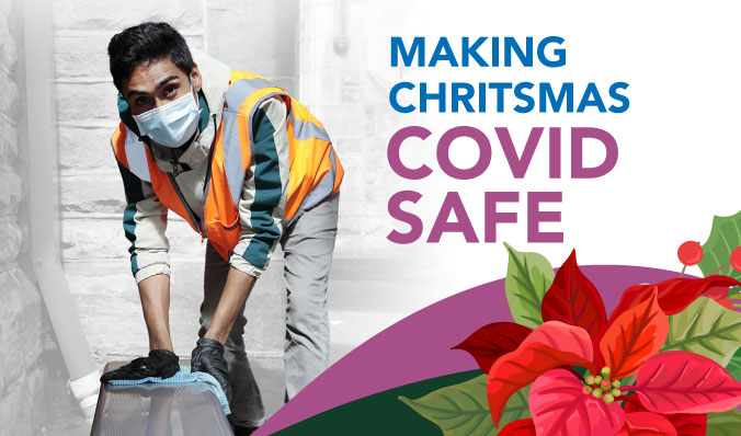Making a COVID safe Christmas.